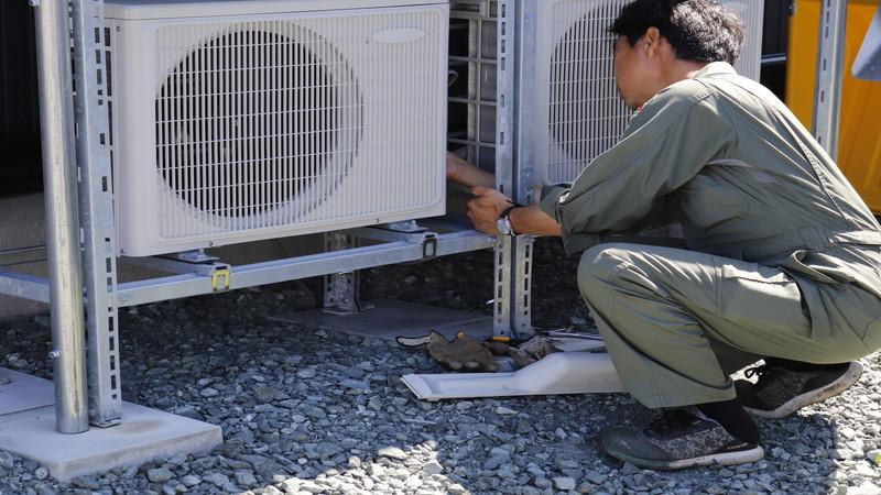 空調冷媒配管工事のタイミングと注意点